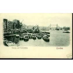 GB - LONDON - THAMES AND TOWERBRIDGE