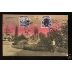 Hongrie - Budapest - Les jardins - 1921