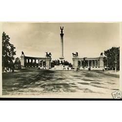 Hongrie - Budapest - Monument millenaire