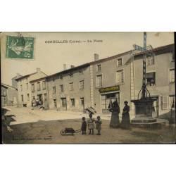 42 - Cordelles - La place -...
