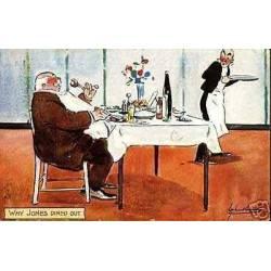 Au restaurant - Why Jones dined out par ???