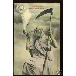 Bonne Annee 1905 - Encore une a fumer... Bergeret