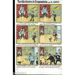 Carte-bande-dessinee - Le croquemitaine par Norwins