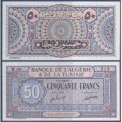 Billet de banque collection Tunisie - PK N° 23 - 50 Francs
