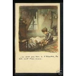 On dort pas bien a l'hopital...Le Taudis par Poulbot