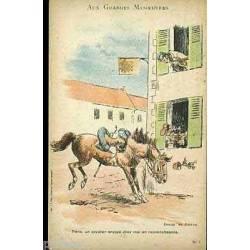 Tiens un cavalier envoye chez moi... par Josias