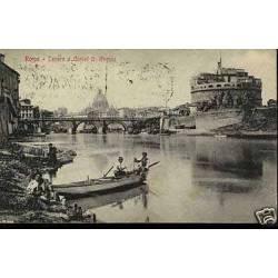 Italie - Rome - Tenere e Costel S. Angelo