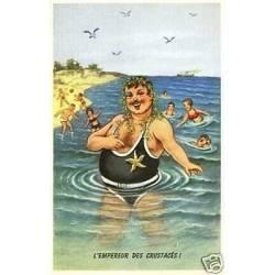 A la plage - L'empereur des custaces !