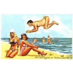 A la plage - Oh ! Celui la avec sa brasse papillon