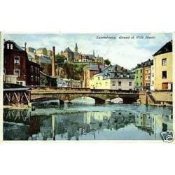 Luxembourg - Grund et ville haute
