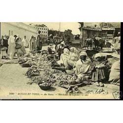 Au Maroc - Marchands de legumes