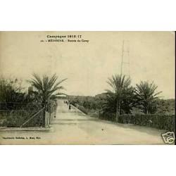 Maroc - Campagne 1915-17 - Medenine - Entree du camp