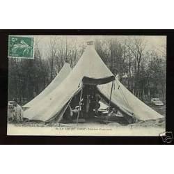 La vie au camp - L'interieur d'une tente