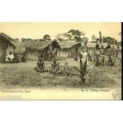 Congo - Village indigene - Femmes et enfants