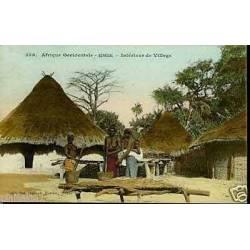 Senegal - Pileuses de Mil - Seins nus