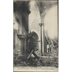 13 - St Cannat - Vue prise de l'interieur de l'eglise