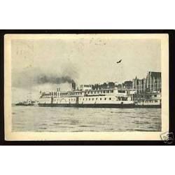 Russie - Novgorod - Bateau a aubes - 1927