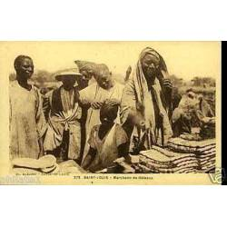 Senegal - Saint-Louis - Marchand de ga¢teaux
