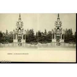 SUISSE - GENEVE - MONUMENT DE BRUNSWICK