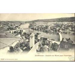 SUISSE - SCHAFFHAUSEN - AUSSUCHT VOM MUNOT