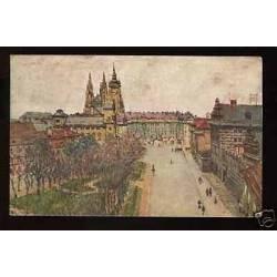 Tchecoslovaquie - Prague - Place de Hradchin