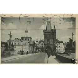 Tchecoslovaquie - Prague - Staromestska mostecka
