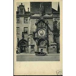 Tchecoslovaquie - Prague -L'horloge de l'hotel de ville