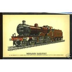 Midland Railway  CPSM