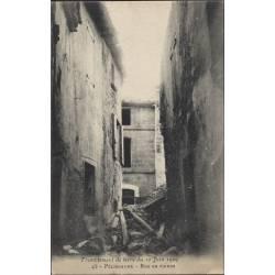 13 - Pelissanne - Rue en ruines