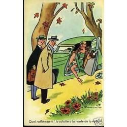 La culotte a la teinte de la voiture