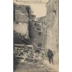 13 - Pelissanne - Coin de rue en ruines
