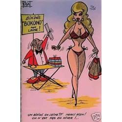 Un bikini en laine ?! Merci bien !....