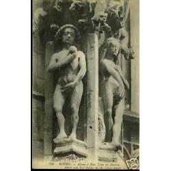 76 - Rouen - Adam et Eve - Tour de beurre