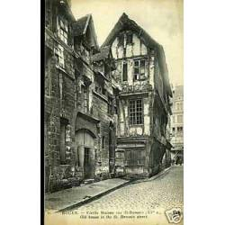 76 - Rouen - Vieille maison rue St-Romain