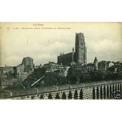 81 - Albi - Eglise Ste-Cecile et l'Archeveche