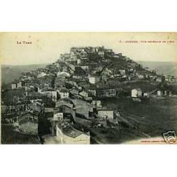 81 - Cordes - Vue generale de l'Est