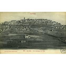 81 - Cordes - Vue generale du Sud