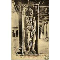 82 - Moissac - Detail du cloitre St Andre