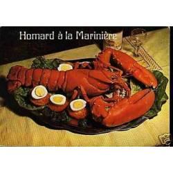 Carte Recette - Le Homard a la mariniere