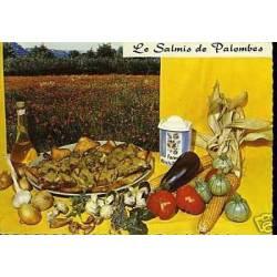 Carte Recette - Le Salmis de Palombes