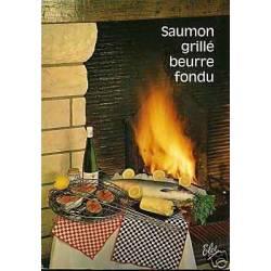 Carte Recette - Saumon grille beurre fondu