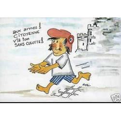 aux armes citoyenne , voila ton sans-culotte ! par Hari