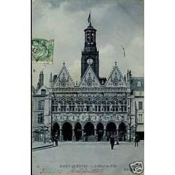 02 - St Quentin - L'hotel de ville
