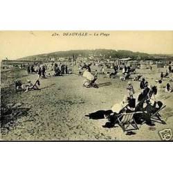 14 - Deauville - La plage