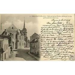 49 - Chanzeaux - Eglise et Ancien Clocher