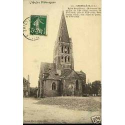 49 - Chemille - Eglise Notre-Dame - Dos