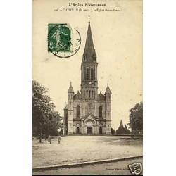 49 - Chemille - Eglise Notre-Dame - Façade