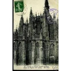50 - Abbaye du Mt-St-Michel - Abside de l'Eglise