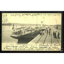 62 - Calais - Le steamer Le Nord et les quais