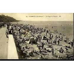64 - Biarritz - La plage des basques